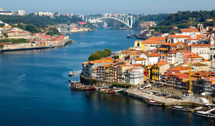 The vibrant city of Porto