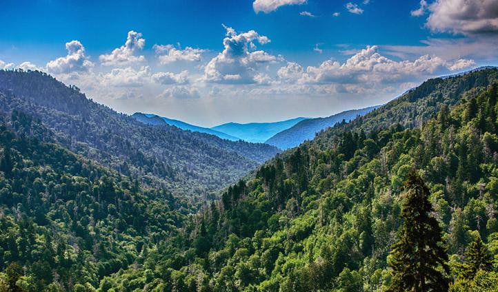 The Smoky Mountains in all their splendour