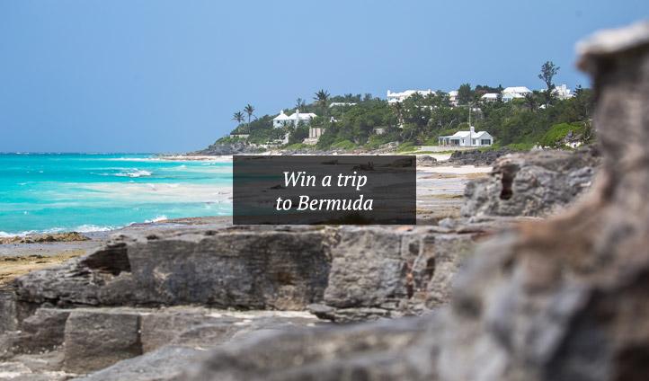 The beauty of Bermuda's coastline