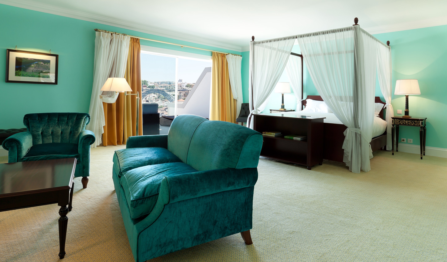 Luxurious suites at The Yeatman