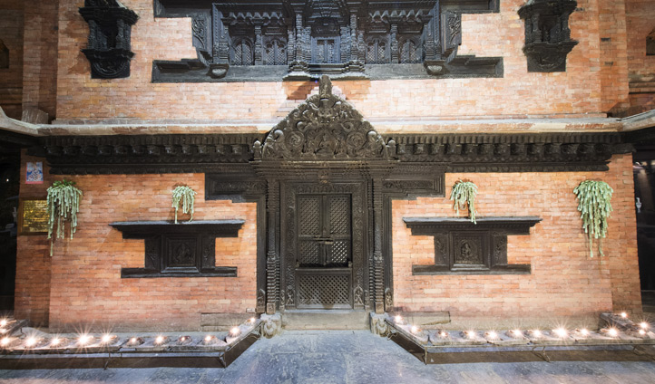 Dwarika's Kathmandu architecture