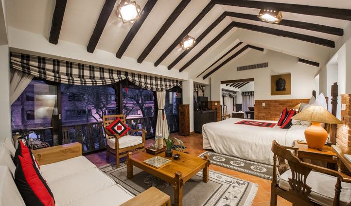 Dwarika's Kathmandu rooms