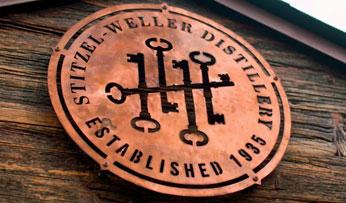The Bulleit whisky distillery in Kentucky