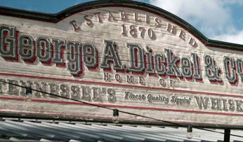 The George Dickel distillery, Tennessee