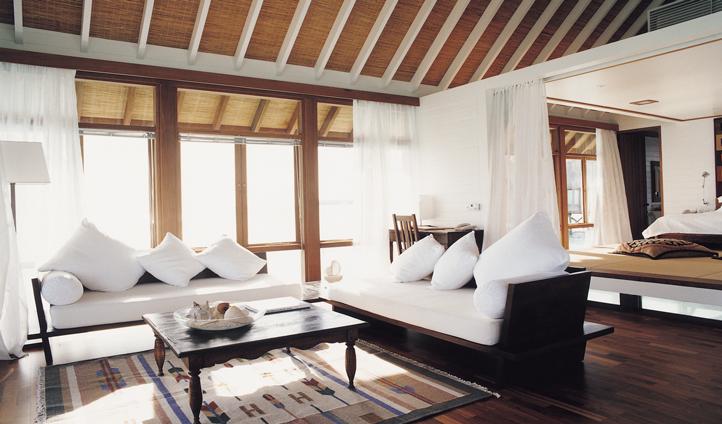 Your villa at Cocoa Island