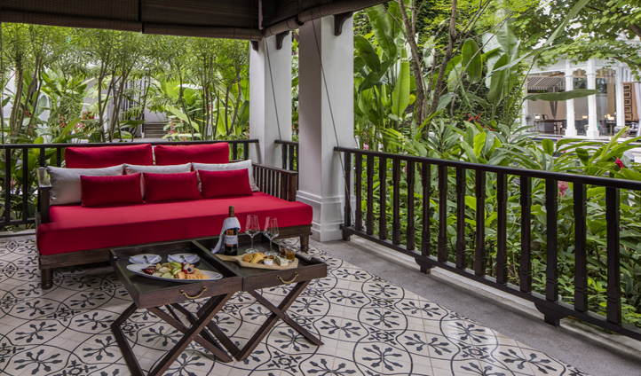 Enjoy breakfast out on your own private vernada