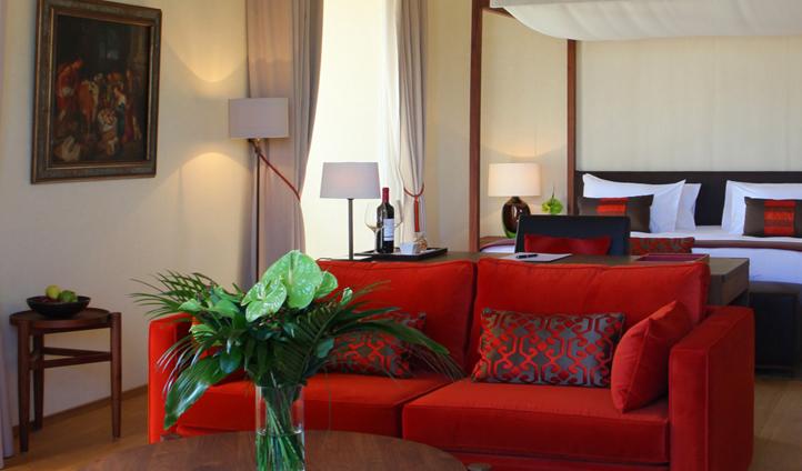 The stylish furnishings of LeDomaine
