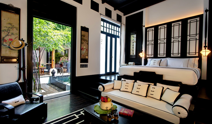 Oriental allure suffused with uncompromising luxury