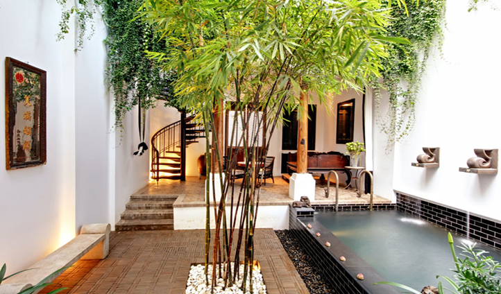 Enjoy the only private pools in Bangkok in a Courtyard Pool Villa