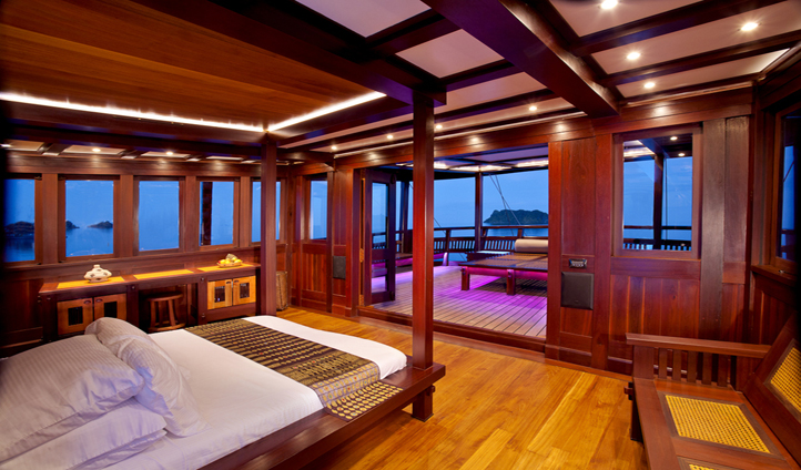 Wake up to incredible views in the master suite