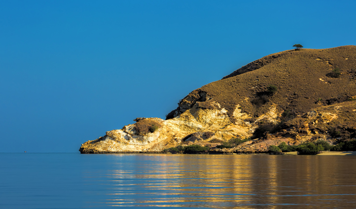 Anchor up in the secluded bays of Komodo Island