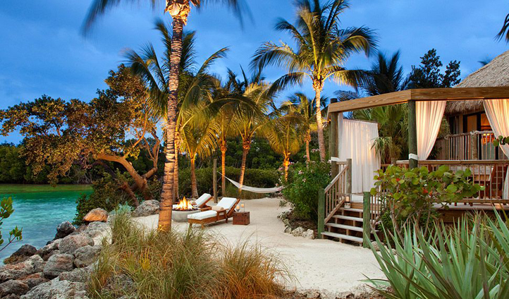 Your exclusive suite on the edge of the beach at Little Palm Island