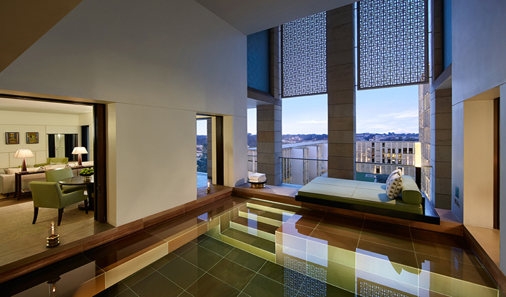 Opt for a suite for your own personal plunge pool and balcony