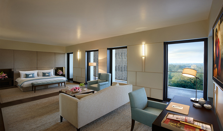 The biggest suites in Delhi