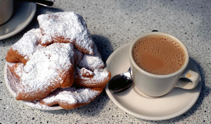 Sample the local speciality - beignets