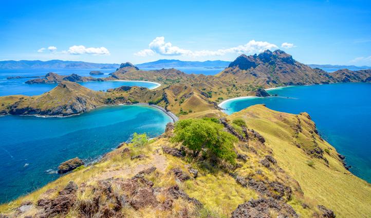 Padar Island is perfect for exploring