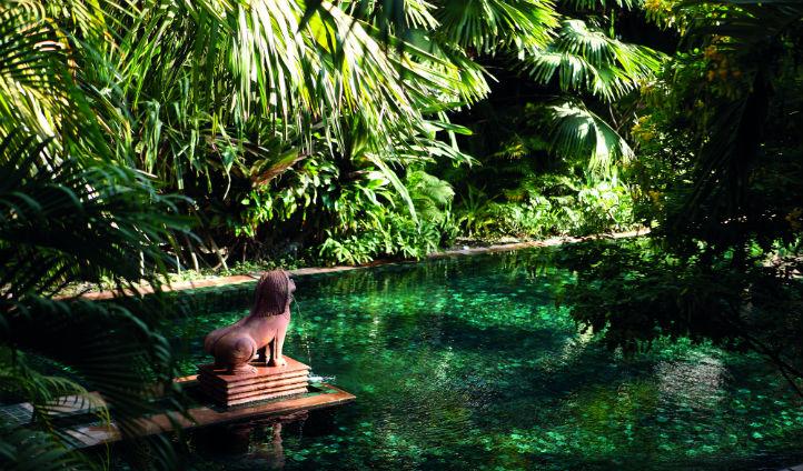 A tropical jungle oasis at La Residence d'Angkor
