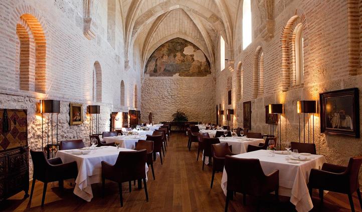 Michelin starred cuisine at the Refectorio restaurant