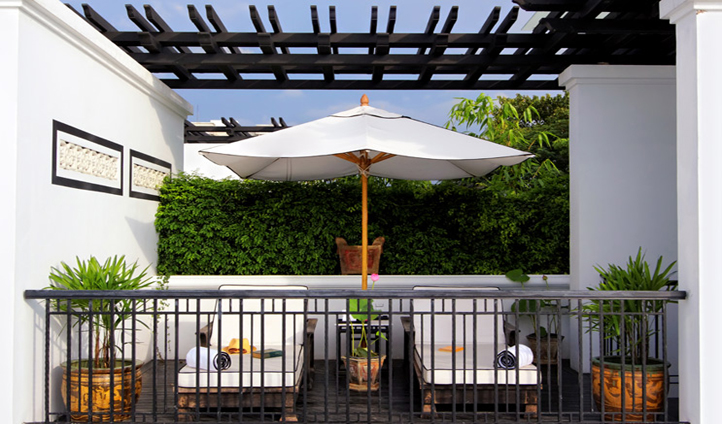 Enjoy views over the Chao Phraya River from your Riverview Pool Villa