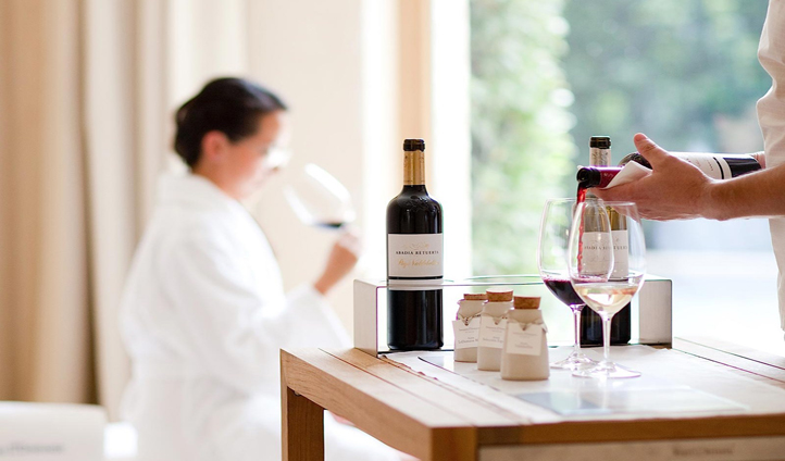 Indulge at the Santuario Spa with the help of the Spa Sommelier