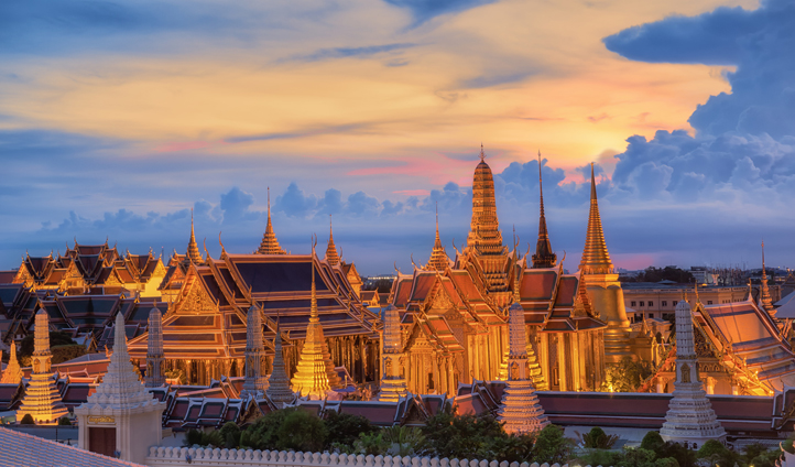 Visit The Grand Palace, the ceremonial home of the Royal Family