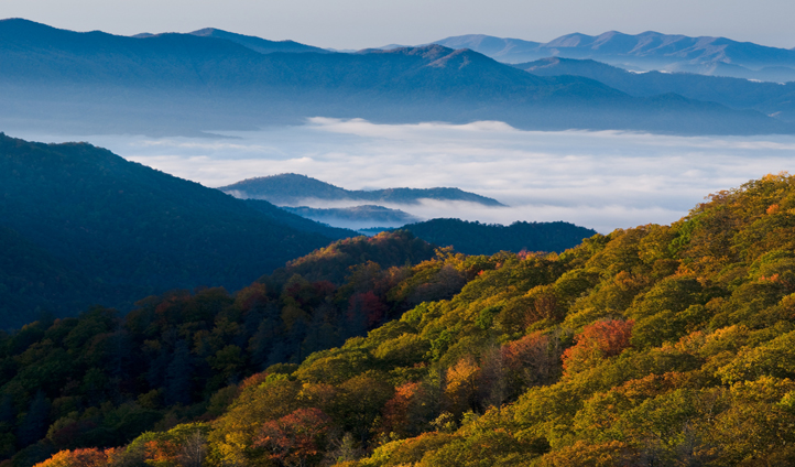 Escape the city to the Smoky Mountains