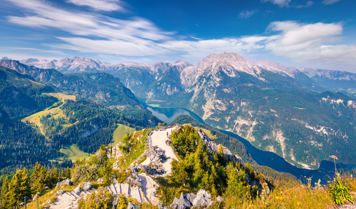 Hop across the border to the Bavarian Alps of Berchtesgaden