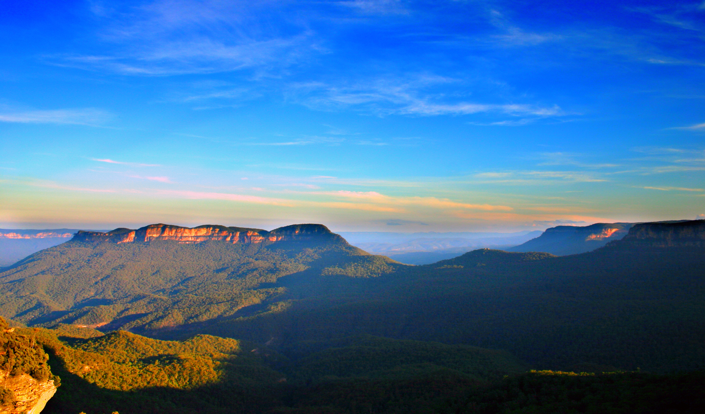 Escape the city to the Blue Mountains