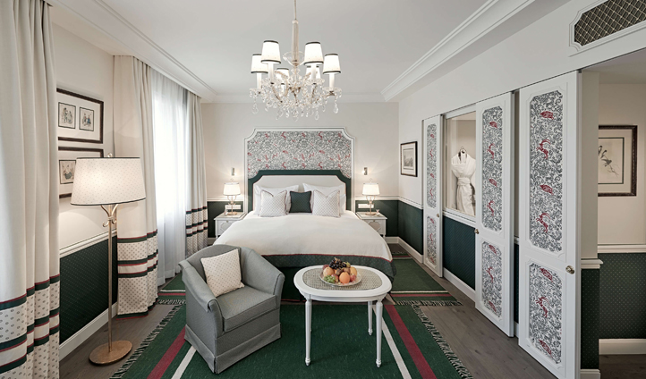 Rooms are designed to evoke a feeling of authentic Salzburg
