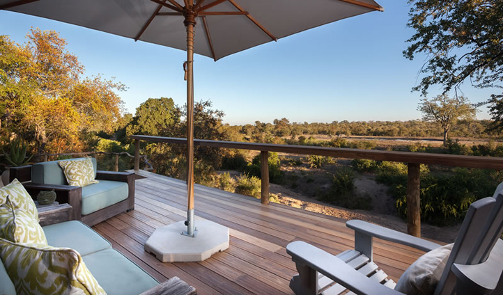 The views at Simbambili are so incredible you'll find it hard to leave