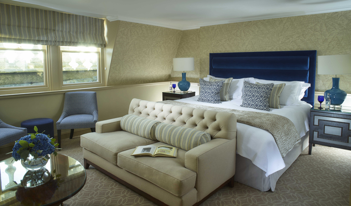 Sumptuous furnishings adorn all the rooms
