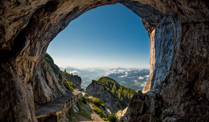 Stunning views from Eisriesenwelt