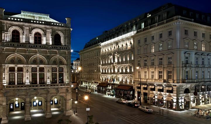 The iconic Hotel Sacher, Vienna