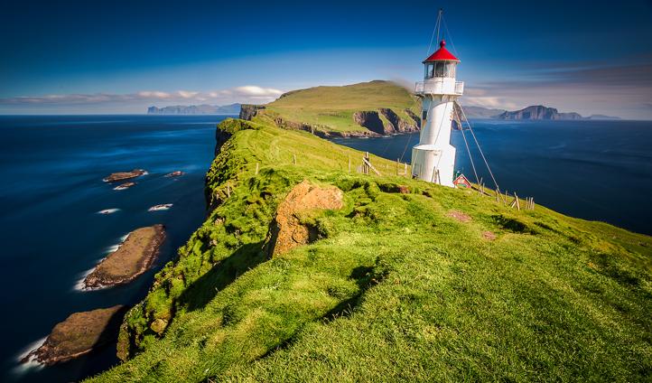 Hike the incredible coastlines of the Faroe Islands