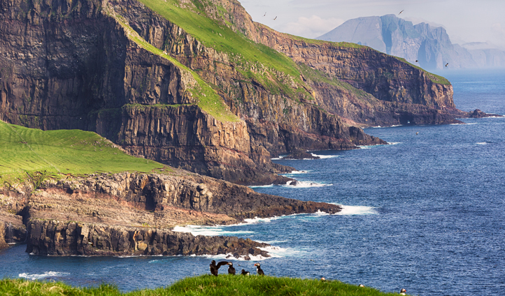 The dramatic Faroese landscapes