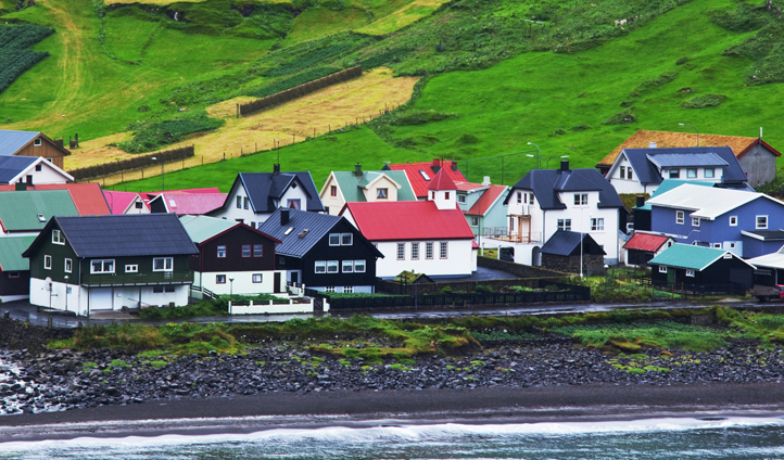 Quaint villages are dotted throughout the Faroe Islands