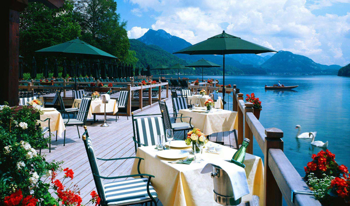 The perfect summer lunch spot