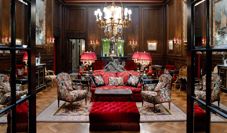 Hotel Sacher is styled to reflect grand tradition