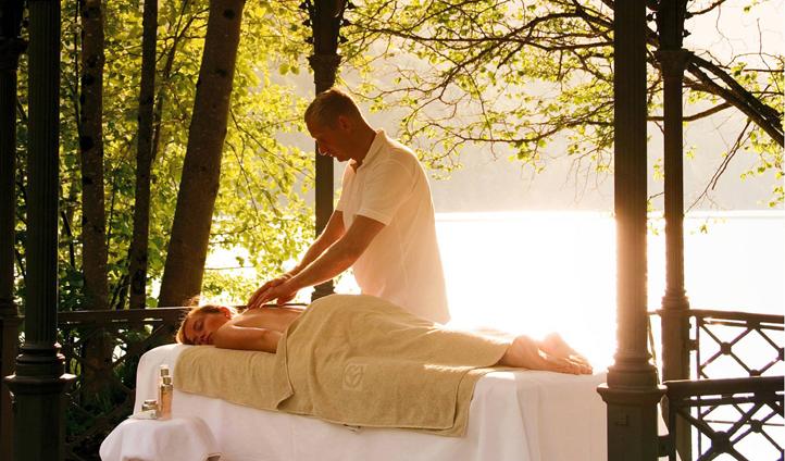 A tranquil spot for a massage