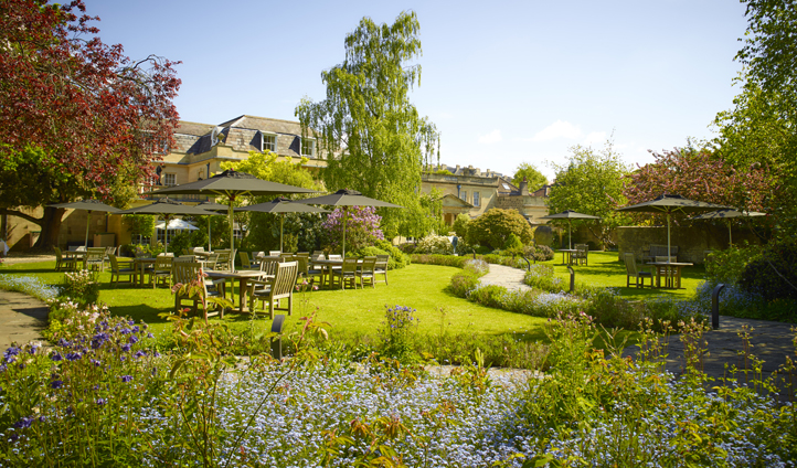 Relax in the beautifully manicured gardens