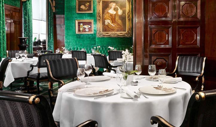 Sample the 'Back in Time' set menu at Restaurant Anna Sacher