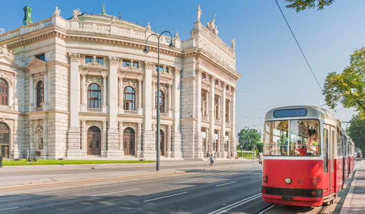 Vienna's most glittering postcodes on the Ringstrasse