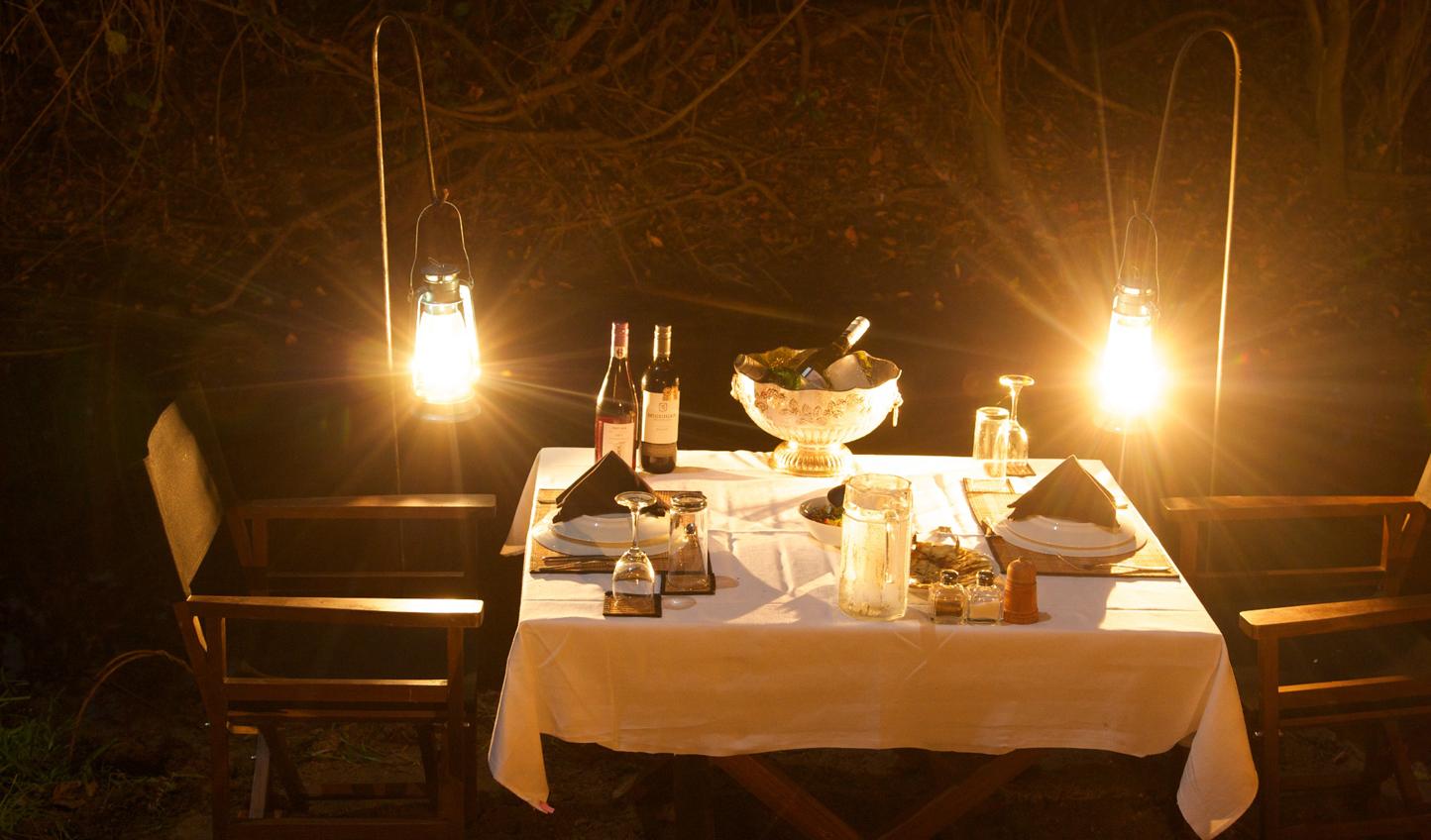 A romantic spot for dinner
