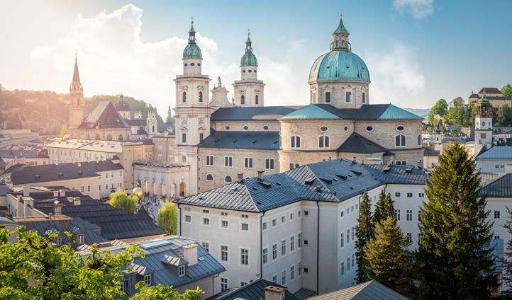 The grand Salzburger Dom