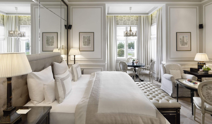 Sumptuous suites at Hotel Sacher, Salzburg