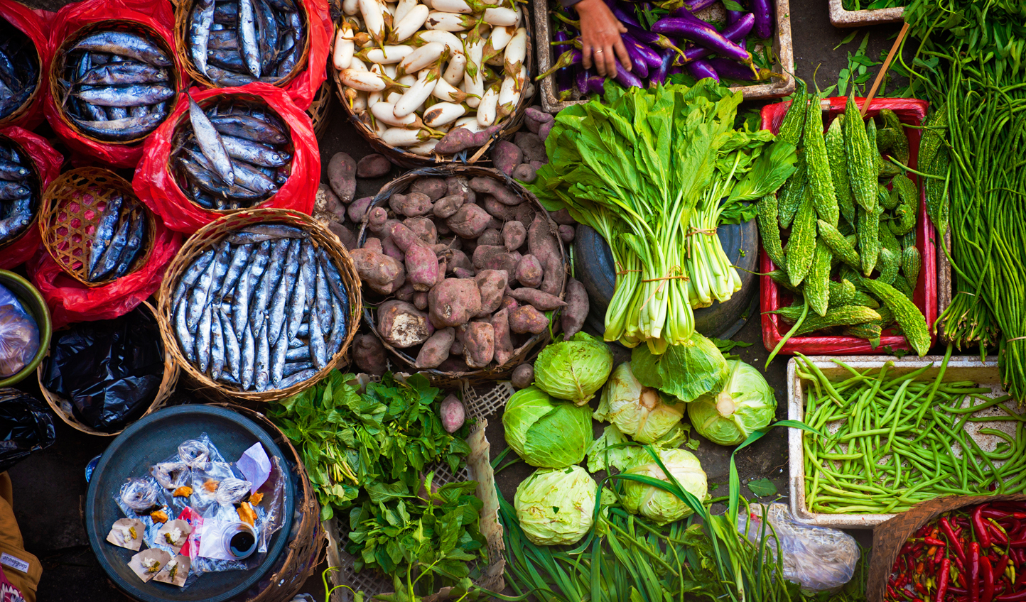 Hit the markets in Ubud