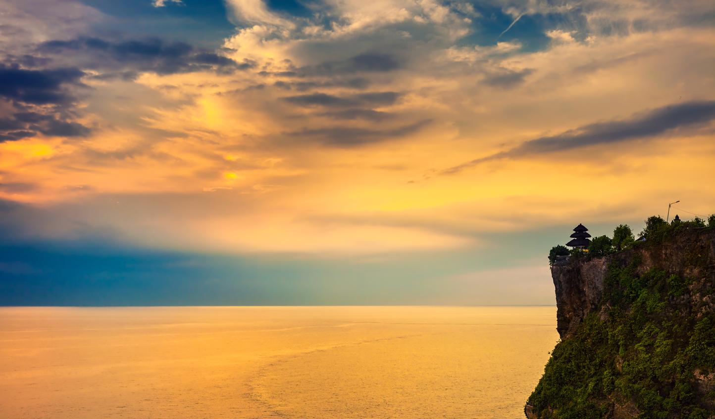 Watch the sunset over Uluwatu Temple