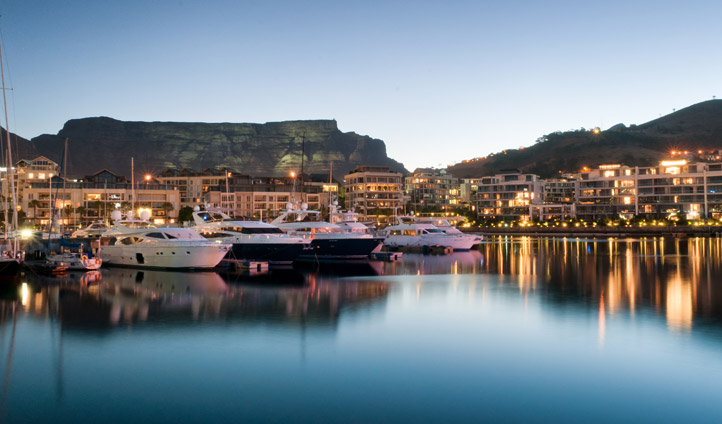 Cape Grace has a stunning location on the V&A Waterfront