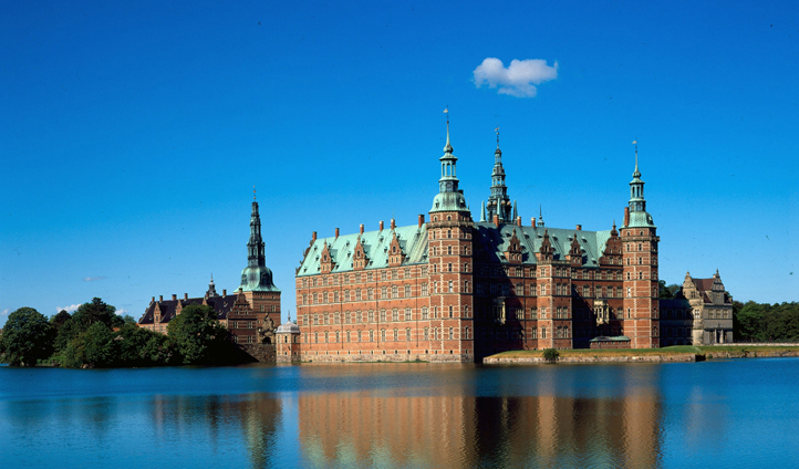 The magnificent Kronborg Castle in North Zealand