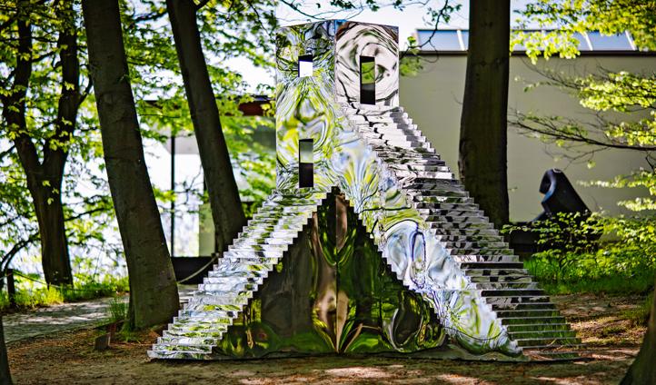 Stroll through Louisiana Museum of Modern Art's sculpture garden